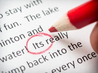 Proofreading its error on school term paper