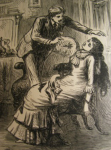Fainting lady
